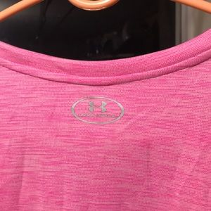 Under Armour Tops - Pink Under Armour shirt